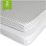Pack N Play Playard Sheet Set (2 Pack) Fitted Jersey...