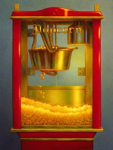 Alu-Dibondbild palomitas II de Thomas Colletta, 60 x 79.8 cm, diseño de hasta los bordes, ...