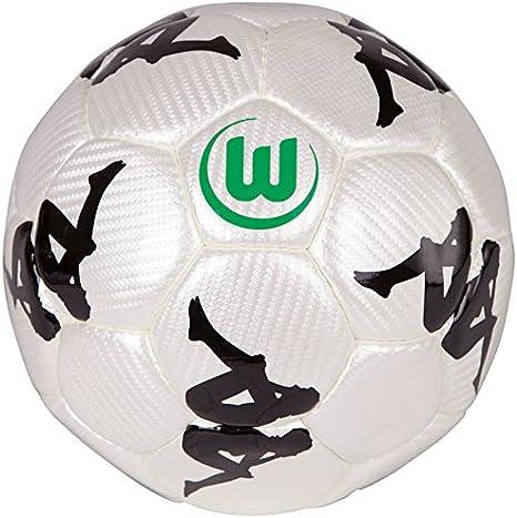 Kappa 402154 VFL - Balón de fútbol (69.0), Color Blanco: Amazon.es ...