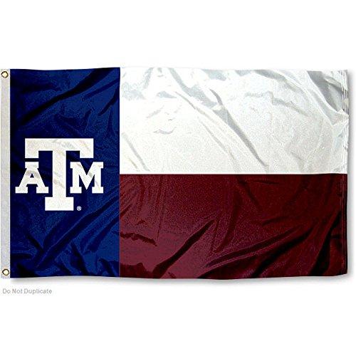 Texas A&M Aggies Texas State Flag