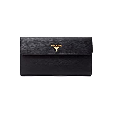 863daacb0a8591 Image Unavailable. Image not available for. Color: Prada Womens 1MH133 2EZZ  Vitello Move Leather Wallet ...