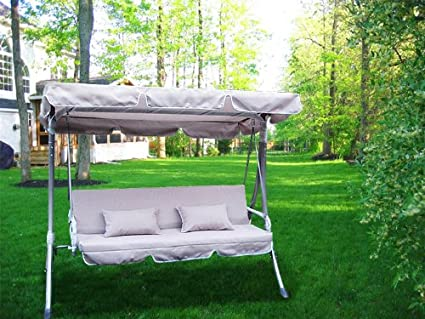 Image Unavailable & Amazon.com : 77x43 Outdoor Replacement Swing Canopy Cover Top Porch ...