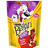 Purina Beggin' Bacon & Beef Flavors Dog Snacks - (4) 25 oz. Pouch