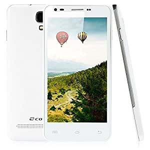 """Mzamzi - gran valor ecomm e100 5.0"""" android 4.2.2 mtk6572 dual-core 512mb+4gb dual card dual standby cellphone (au standard) white"""