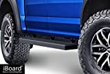 low profile running boards - APS iBoard (Black Powder Coated 5 inches) Running Boards | Nerf Bars | Side Steps | Step Rails for 2015-2019 Ford F150 SuperCrew Cab Pickup 4-Door / 2017-2019 Ford F-250/F-350 Super Duty