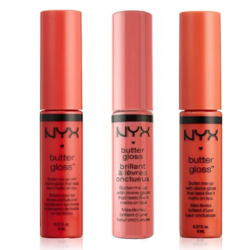 Butter Lip Gloss Peach Cobbler,Nyx Cosmetics,Blg06