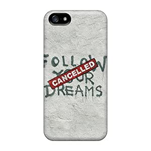 Hot Snap-on Banksy Cancelled Dreams Hard Cover Case/ Protective Case For Iphone 5/5s