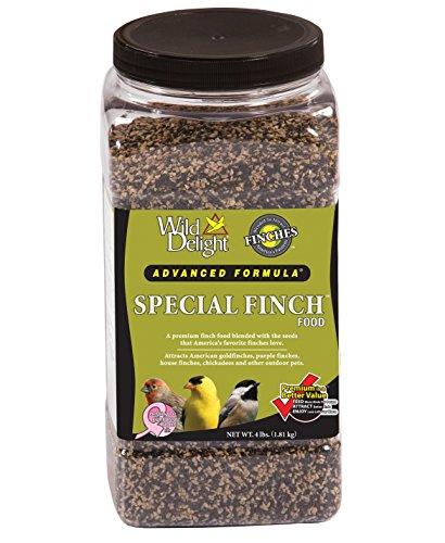 (Wild Delight Special Finch Food, 4 lb Jar)