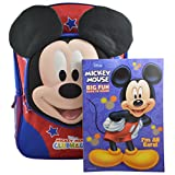 """Disney Mickey Mouse Clubhouse Boys' 3D Pop out 16"""" Backpack w/ Bonus Coloring Book"""