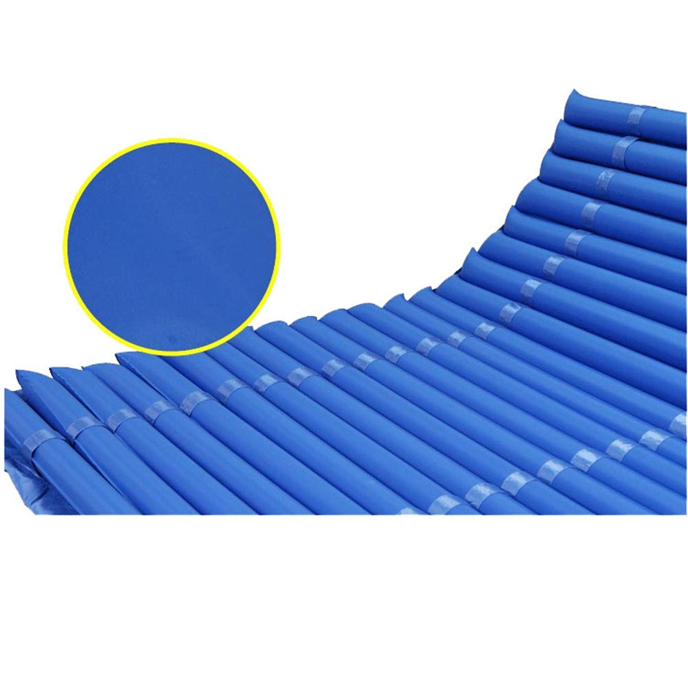 Mayor colchón de aire inflable anti decúbito, azul anti presión aire dolor cama cuidado Mat paciente,1.2m: Amazon.es: Salud y cuidado personal