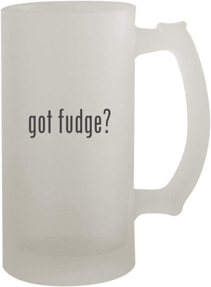 got fudge? - 16oz Frosted Beer Mug Stein, Frosted