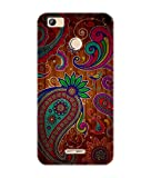 Gismo Vintage Tribal Brown case cover for girl Printed TPU Soft silicon Flexible Case Cover For Micromax unite Canvas 4 Pro Q465