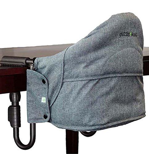 guzzie+Guss Perch Portable Table Chair - Salt & Pepper