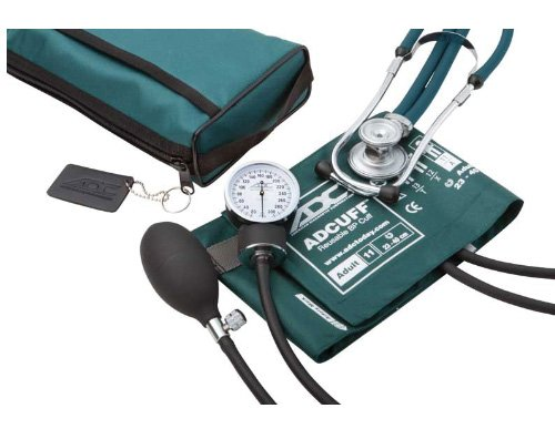 ADC Pro's Combo II SR Adult Pocket Aneroid/Scope Kit with Pr