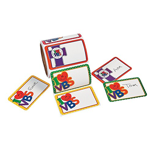 I love VBS Name Tags (100 Pack) ()