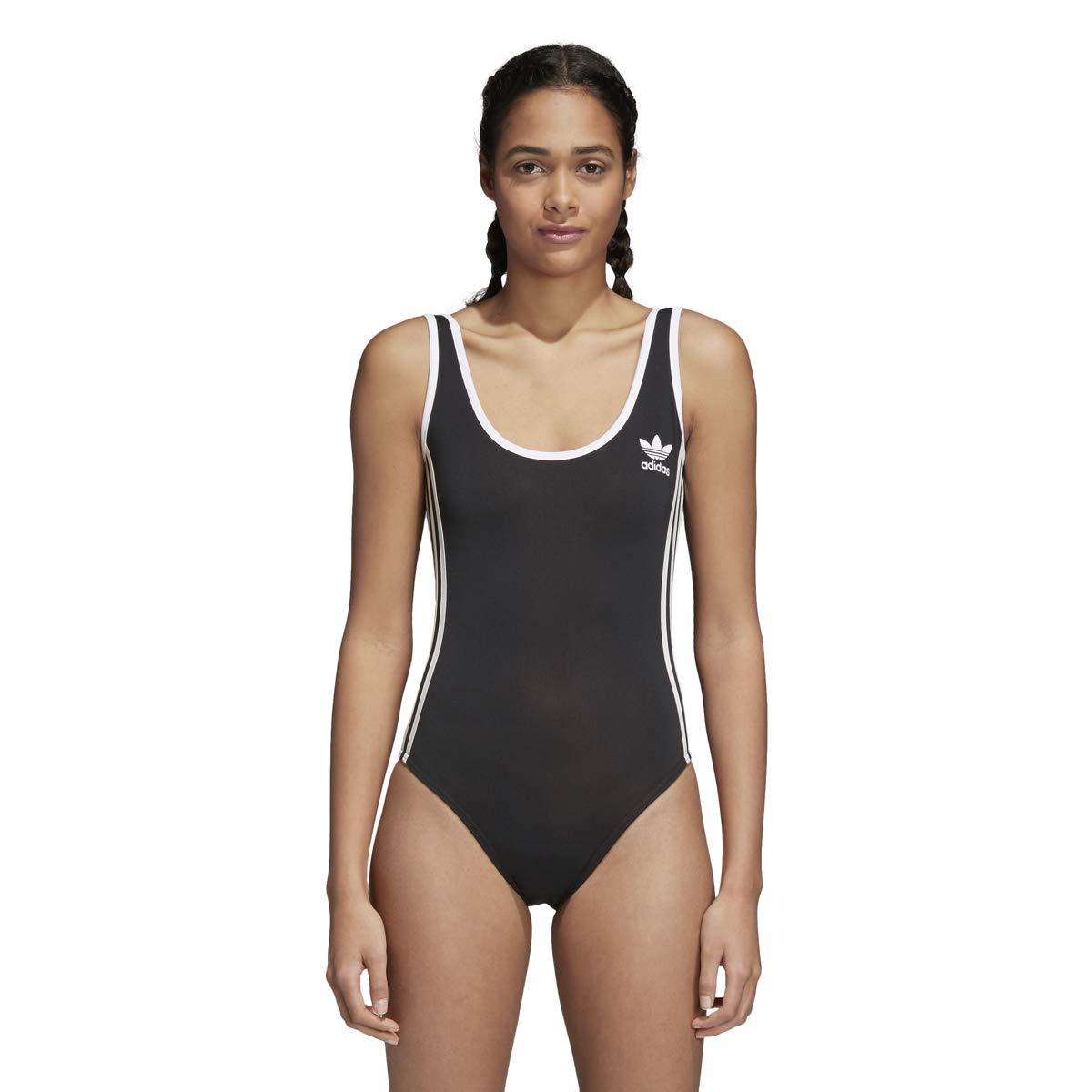 7461e0655be adidas Women's Originals 3-Stripes Bodysuit at Amazon Women's Clothing  store: