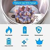 "Kitma 16"" Gas Wok Range - Commercial Natural Gas"