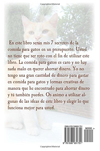 7 secretos para comida para gatos en un presupuesto (Spanish Edition): Gregory Kelley: 9781508931751: Amazon.com: Books