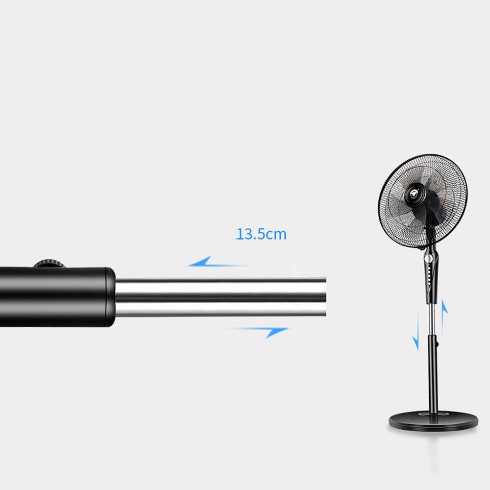 ZHIRONG Stehen Sie Fan-energiesparenden elektrischen Ventilator-Stumm 4 Dateien justierbaren industriellen Erschütterungskopf-Fan 60W Heizen & Kühlen Heizen & Kühlen