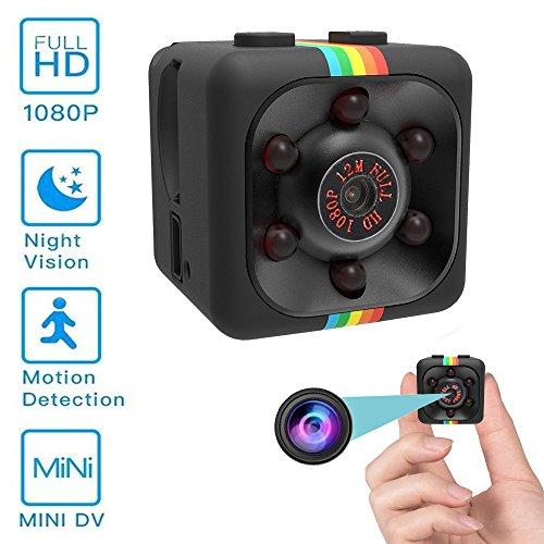 Mini Hidden Camera, Spy Camera, Mocrux Nanny Cam Indoor Hidd