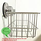 iPEGTOP Suction Cup Deep Shower Caddy Bath Wall
