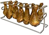 King Kooker #12WR 12-Slot Leg and Wing Grill Rack