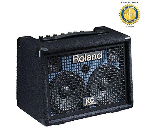 Roland KC-110 30-watt Battery-Powered Stereo Keyboard Amplifier with 1 Year Free Extended Warranty - Battery Powered Stereo Amplifier