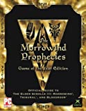 img - for MORROWIND PROPHECIES: GAME OF THE YEAR EDITION strategy guide book / textbook / text book