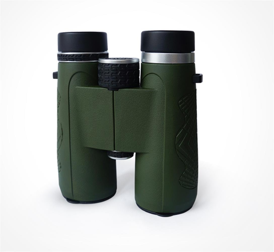 XUEXIN Binoculars waterproof anti - fog high - definition high power adult mobile phone non - perspective concert 10x42 , army green