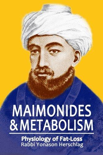Maimonides Metabolism Rabbi Yonason Herschlag