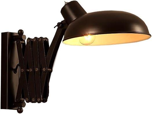 MG Wall Industrial Appearance Adjustable Wall Reading Multipurpose Light Rocker Arm Scissor Expandable LEDE27