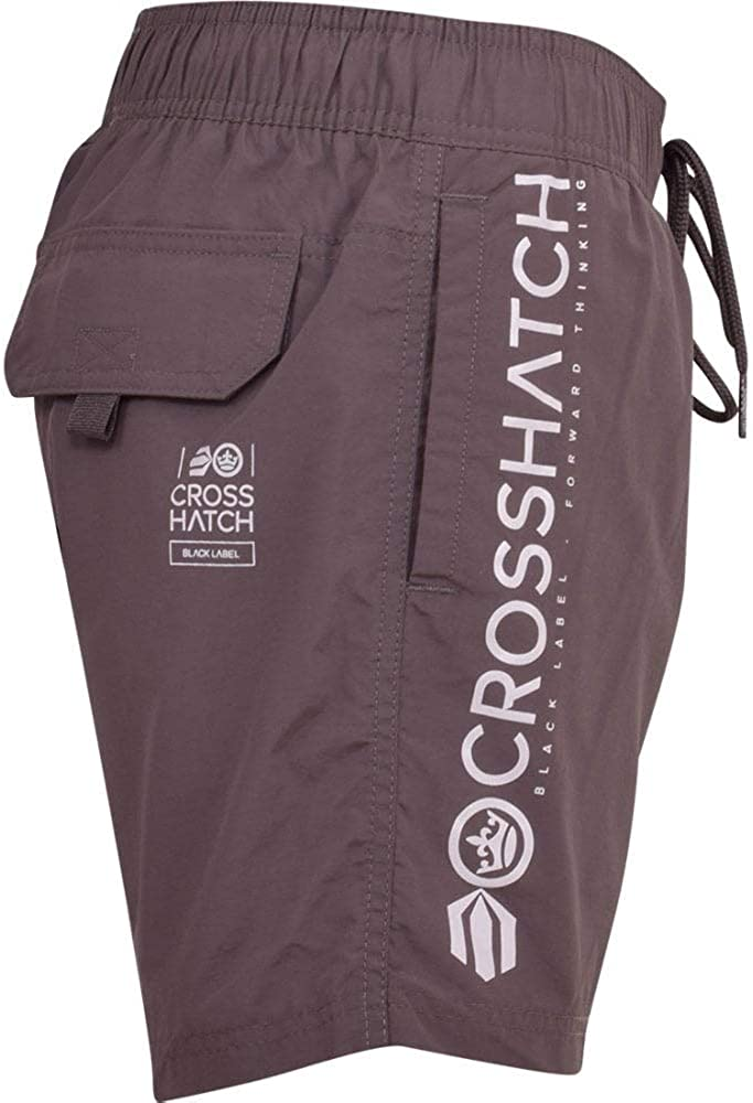 Crosshatch Mens Designer Swimming Shorts Trunks Drawcord Beach Casual Mesh Lined