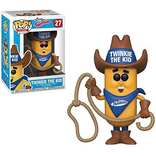 (Funko Twinkie The Kid: Twinkie x POP! Ad Icons Vinyl Figure & 1 PET Plastic Graphical Protector Bundle [#027 / 32211 -)