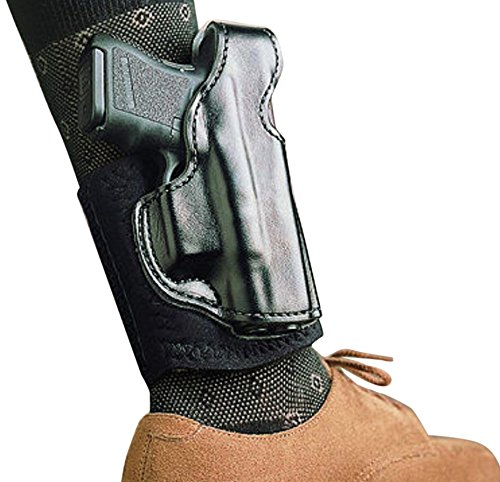 Right Hand Ankle Black Holster - DeSantis 4007527 Die Hard Ankle Rig for Glock 43- Black Right Hand