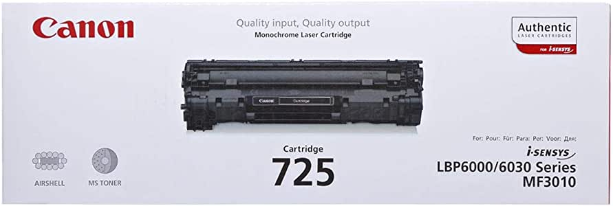 Canon Toner Cartridge - 725, Black