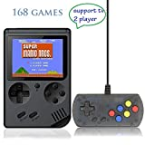 Retro Handheld Game Console FC System Plus Extra Joystick Portable Mini Controller 3 Inch Support TV 2 Player 168 Classic Game Console Present for Boy Kids Adult