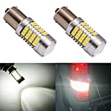 1156 bulb white - ENDPAGE 1156 1141 1003 7506 BA15S LED Bulb 2-pack, Xenon White 6000K, Extremely Bright, 54-SMD with Projector Lens, 10-30V, Work as Back Up Reverse Lights, Brake Tail Lights, Turn Signal Blinkers