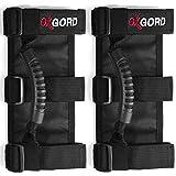 OxGord Roll Bar Grab Handle Grips Set for