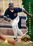1995 Pinnacle #133 Garret Anderson Card
