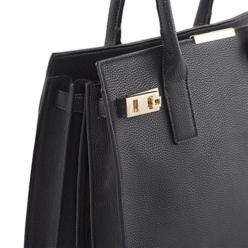 'carlisle' Shoulder Bag (black )