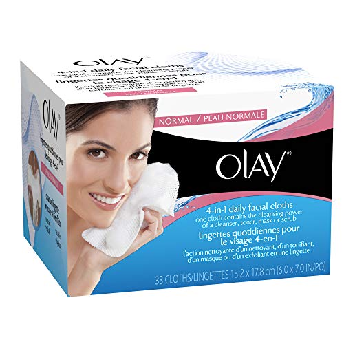 Cloths Refill Facial Cleansing - Oil Of Olay Daily Facials Normal & Dry Refill, 33 ct
