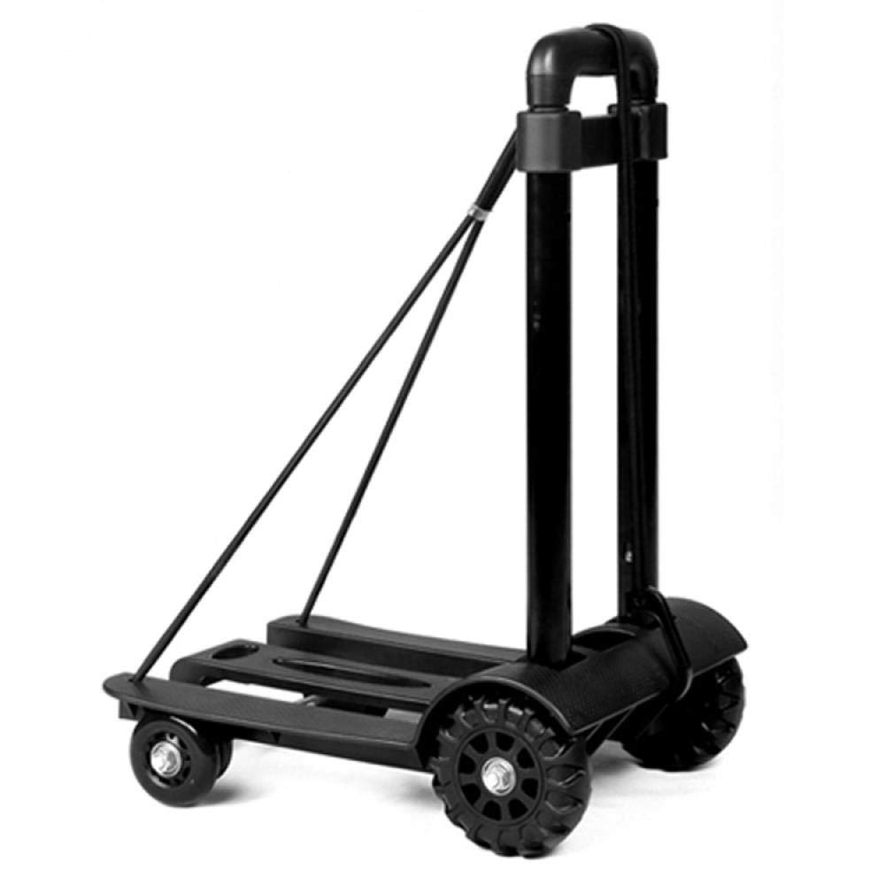 Portable Folding Luggage Cart Sturdy and Lightweight Luggage Cart - Karting Can Accommodate 75 Kg, Trolley by Hokaime