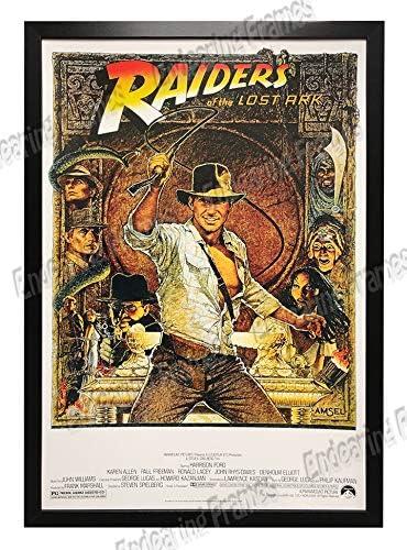 Indiana Jones Movie Poster Ornaments