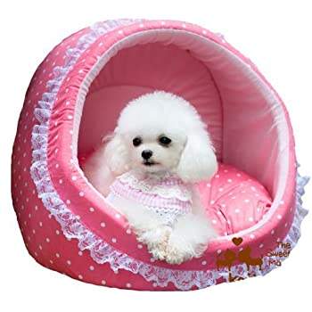 Amazon.com : Colorfulhouse® Princess House Pet Bed Lovely