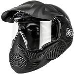 Evike Valken Annex MI-5 Airsoft Paintball Full Face Mask - ANSI Rated - Black - (48436)