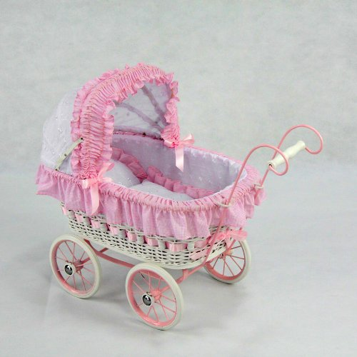 Alexandra Doll Play Pram by Regal Doll Carriages