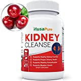 Best Kidney Cleanse (Vegetarian) Supports Bladder Control & Urinary Tract - Powerful VitaCran Cranberry Extract - Natural Herbs Supplement - Kidney Health, Flush & Detox - 60 Capsules (No Pills)