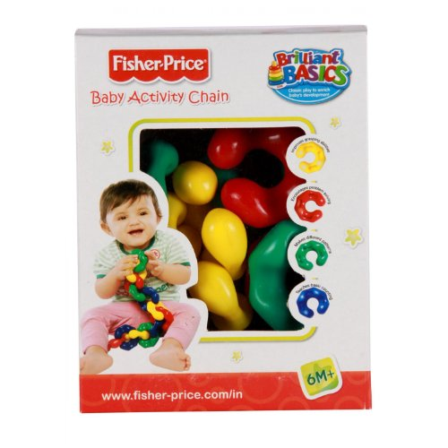Fisher Price Baby Activity Preschool Infant Chain India  Multi Color