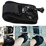 360 Degree Rotation Wrist Hand Strap Band Holder Mount For GoPro HD Hero 4 3 Plus 2 Xiaomi Yi SJ4000 SJ5000 SJcam