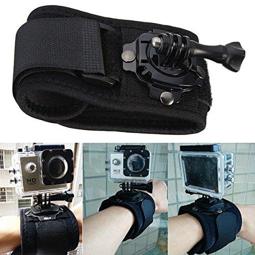 Price comparison product image 360 Degree Rotation Wrist Hand Strap Band Holder Mount For GoPro HD Hero 4 3 Plus 2 Xiaomi Yi SJ4000 SJ5000 SJcam